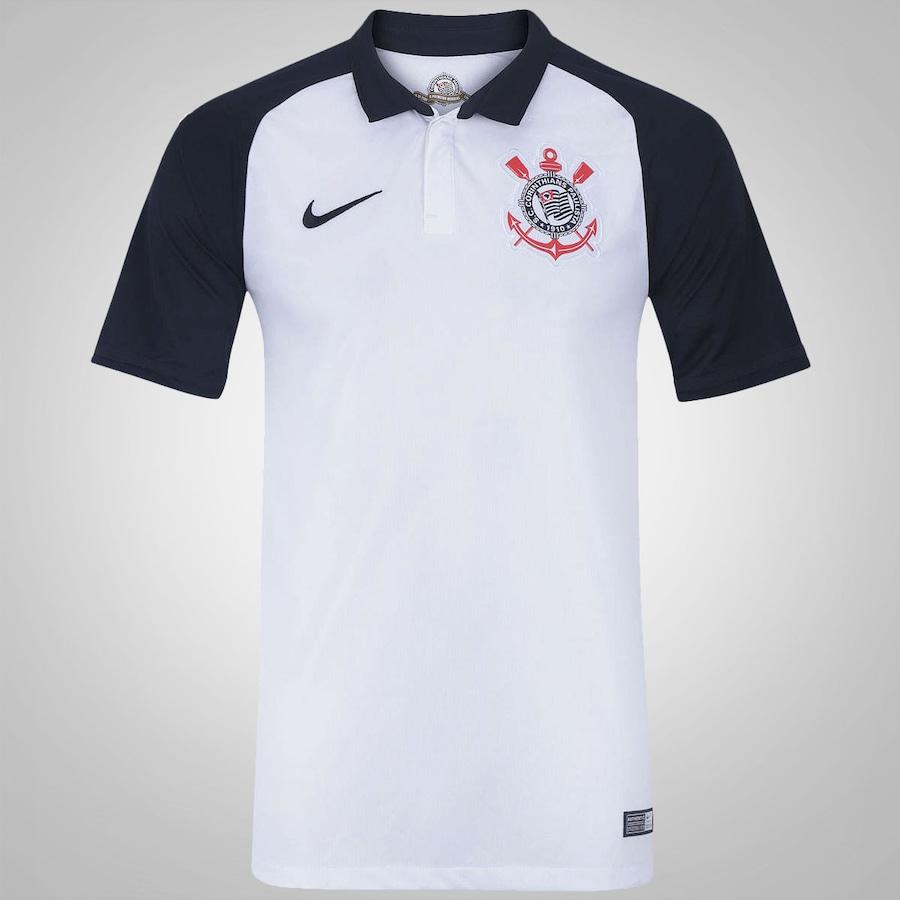 Camisa do Corinthians I 2015 s nº Torcedor Nike - Masculina 7ae8ec39d8a2c