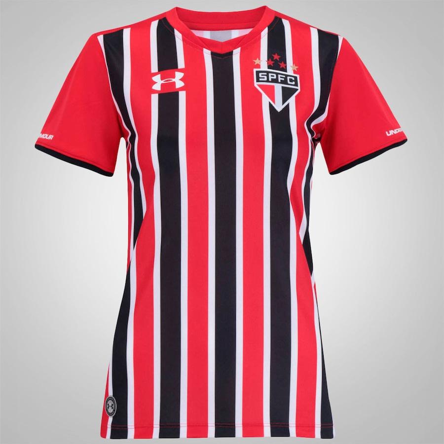 c84526be0ed Camisa do São Paulo II 2015 s nº Under Armour Feminina