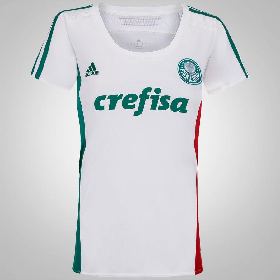 Camisa do Palmeiras II 2015 s n° adidas Feminina fc5064a3831d5
