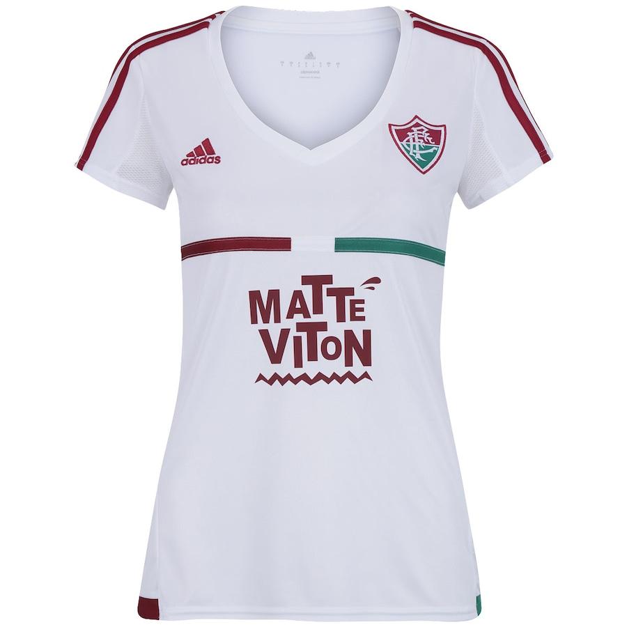 8cabbe9753745 Camisa do Fluminense II 2015 s nº adidas Feminina