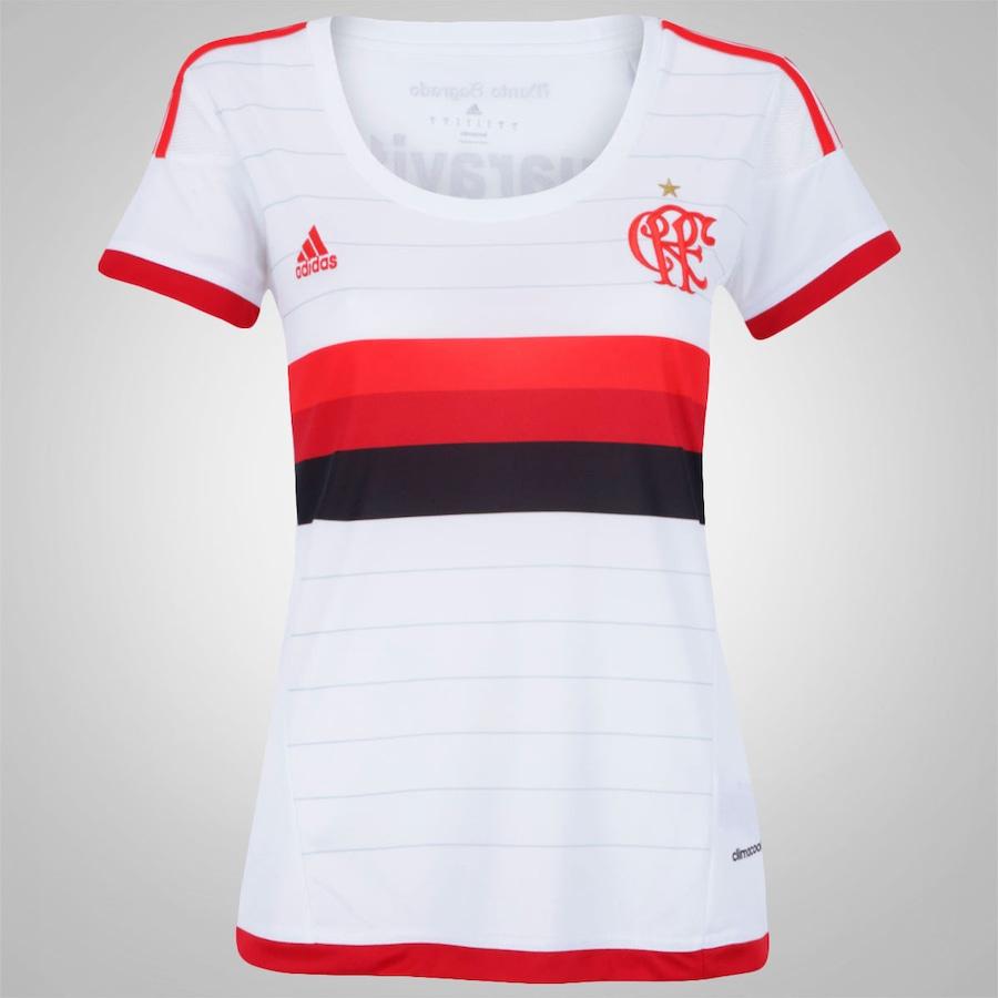 Camisa do Flamengo II 2015 s nº adidas - Feminina 1426e1381b0a4