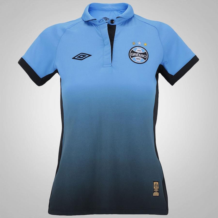 Camisa Umbro Grêmio III - Feminina ab105713a5bcf