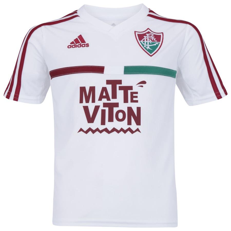 Camisa do Fluminense III 2015 s nº adidas Infantil 8b3f899b7d959