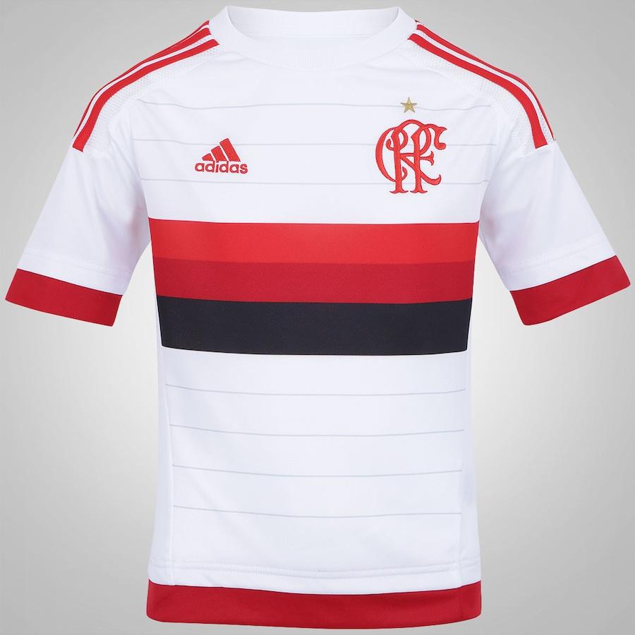 382e442976e23 Camisa do Flamengo II 2015 s n° adidas Infantil