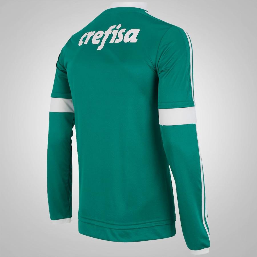 f866a11655 Camisa do Palmeiras Manga Longa I 2015 adidas