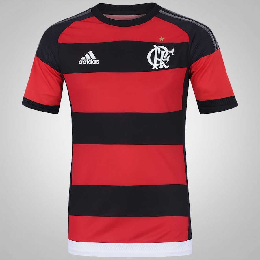 c6f8fd06cb83d Camisa do Flamengo I 15 16 Jogador adidas - Masculina