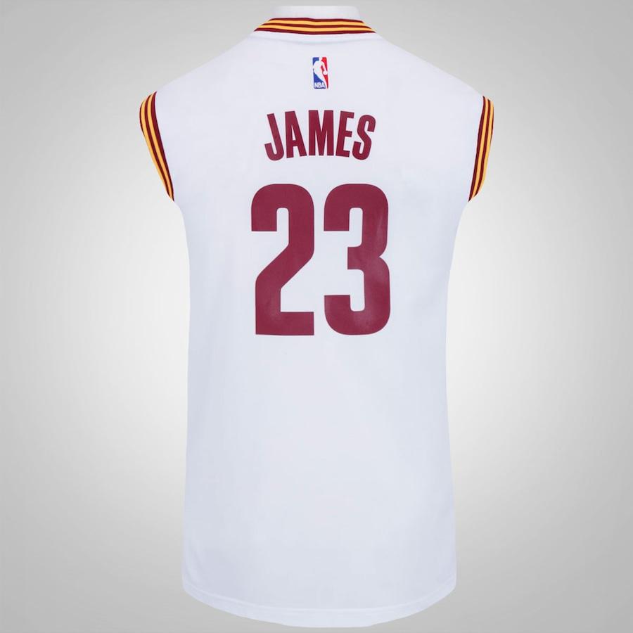 Camiseta Regata adidas NBA Cleveland Cavaliers - Masculina 2cf5a7b31a3