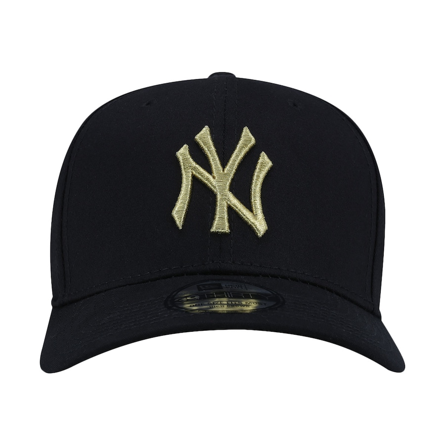 Boné Aba Curva New Era New York Yankees MLB Gob - Fechado 0cd2a4a61cc
