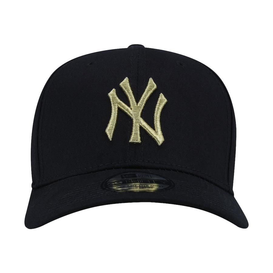 5511611eac27d Boné Aba Curva New Era New York Yankees MLB Gob - Fechado