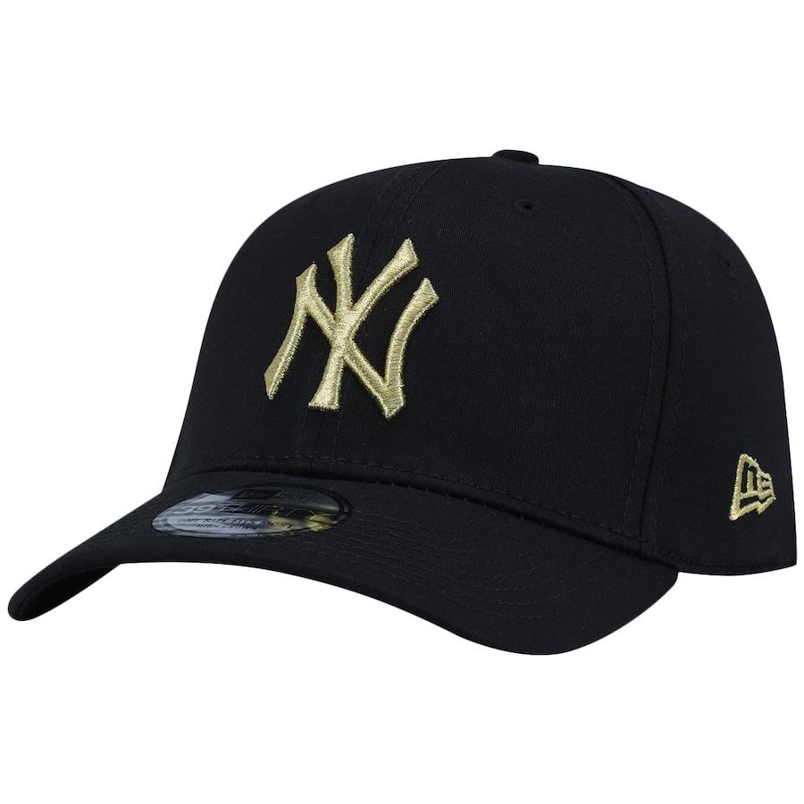... Boné Aba Curva New Era New York Yankees MLB Gob - Fechado - Adulto ... e2a38d099f0
