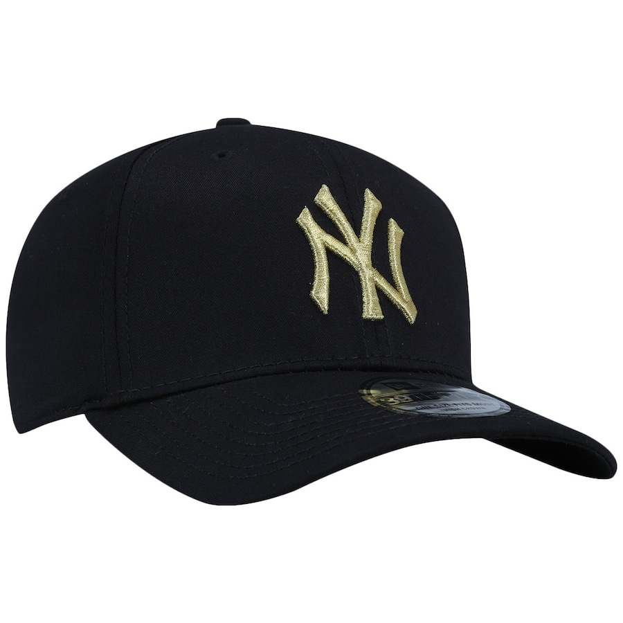 ... Boné Aba Curva New Era New York Yankees MLB Gob - Fechado - Adulto ... 375b5f29acf