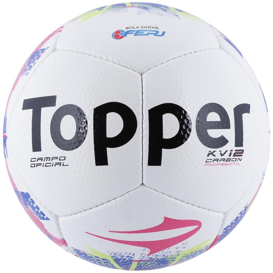 Bola de Futebol de Campo Topper KV Carbon 12 RJ 15 5a0ea03bc28db