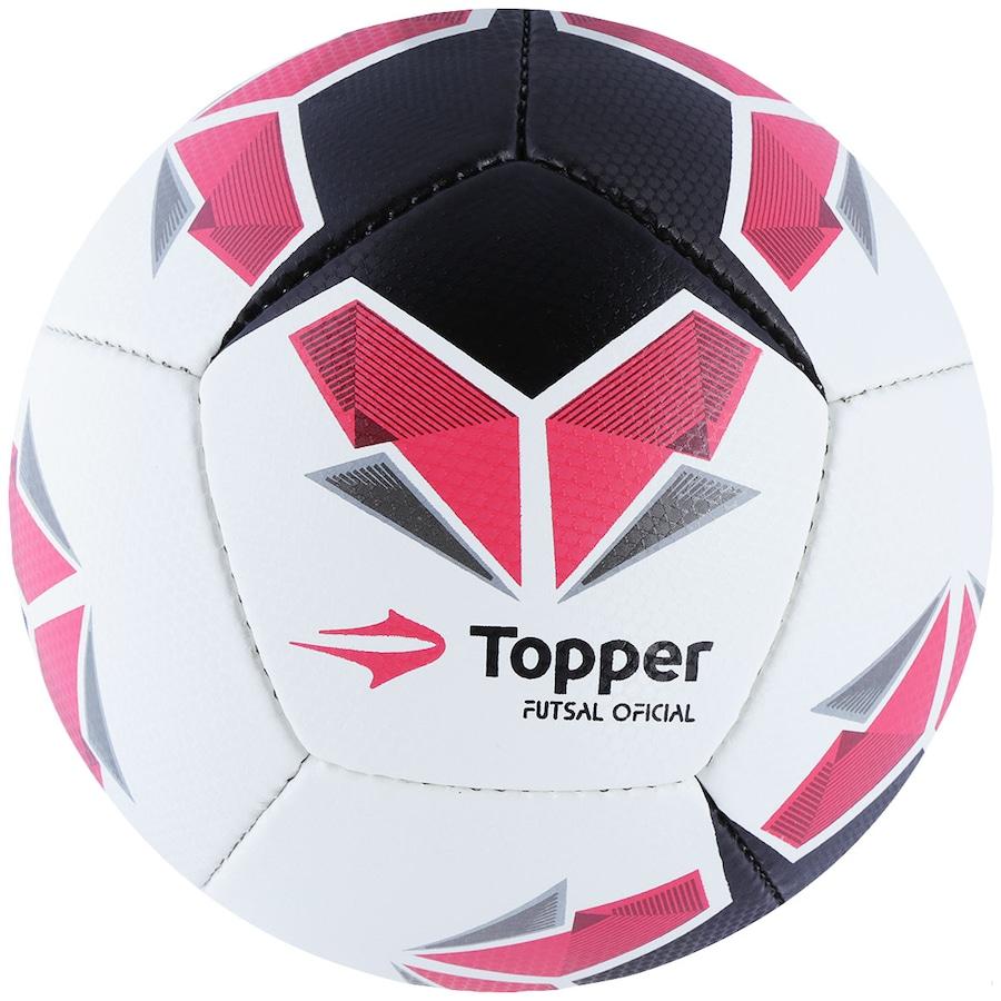 023dfa475c297 Bola de Futsal Topper Seleção Brasileira 5