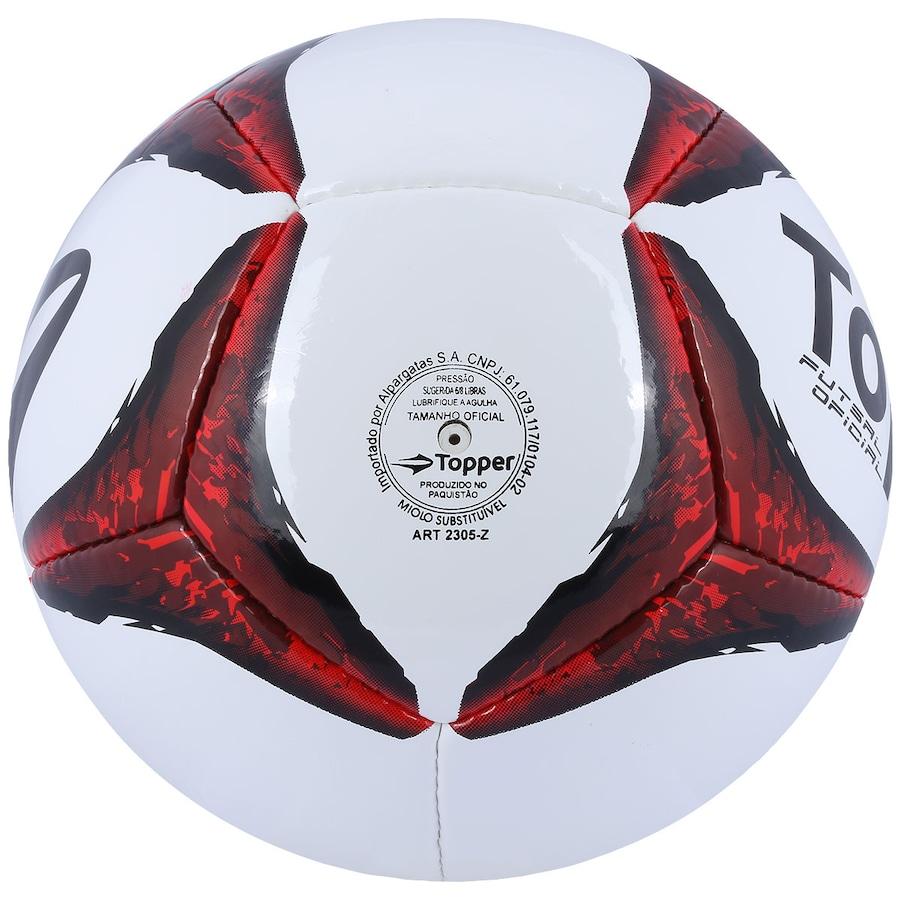 e68f86cf9d Bola de Futsal Topper Ultra VII