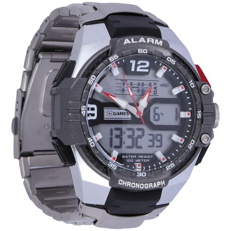 bcf82b14c28 Relógio Masculino Analógico Digital X Games XMPSA018