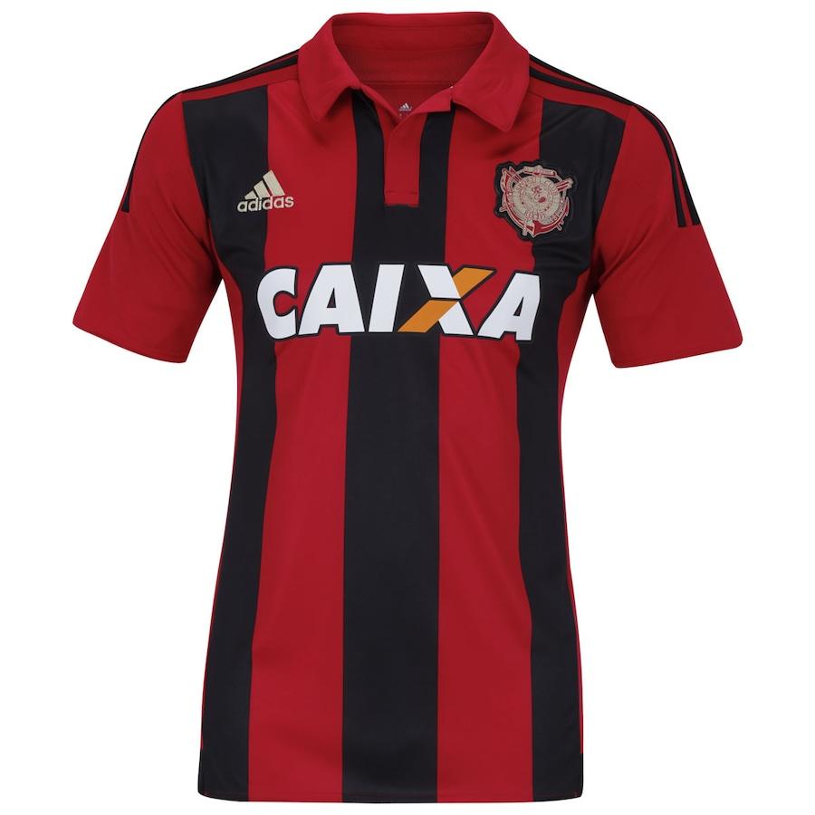 b6cbabb199347 Camisa do Sport Club do Recife I 2015 com Patrocínio adidas