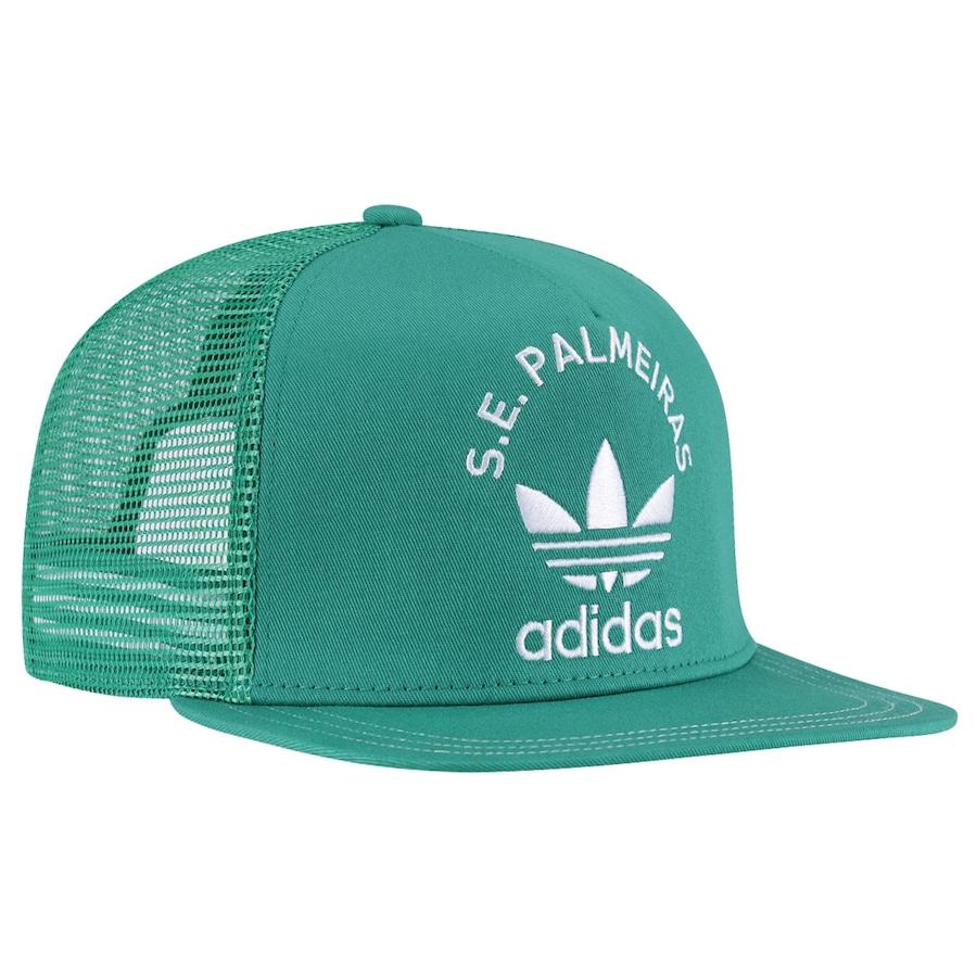 ... Boné Aba Reta adidas Palmeiras Originals - Snapback - Trucker - Adulto  ... dd8b261d235