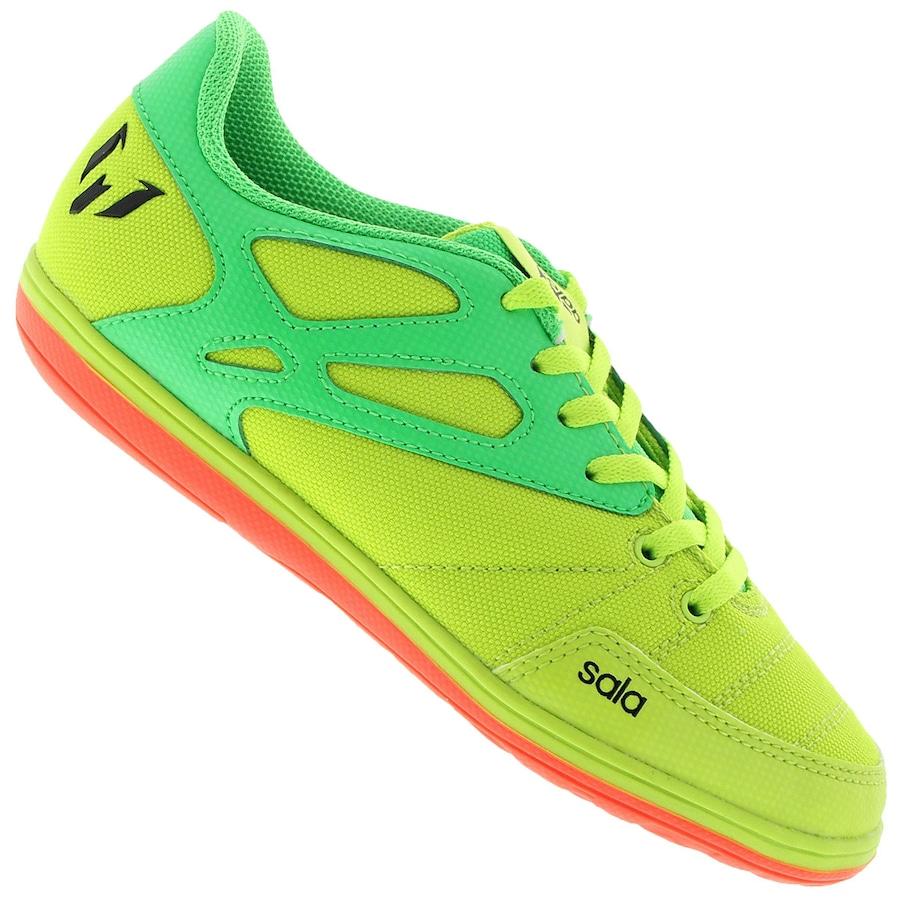 fa0d680dd0ec3 Chuteira Futsal adidas Messi 15.4 ST- Infantil