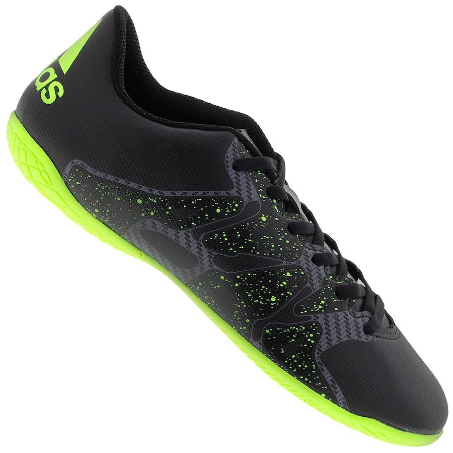 Chuteira de Futsal adidas X 15.4 IN 01bba8916148b