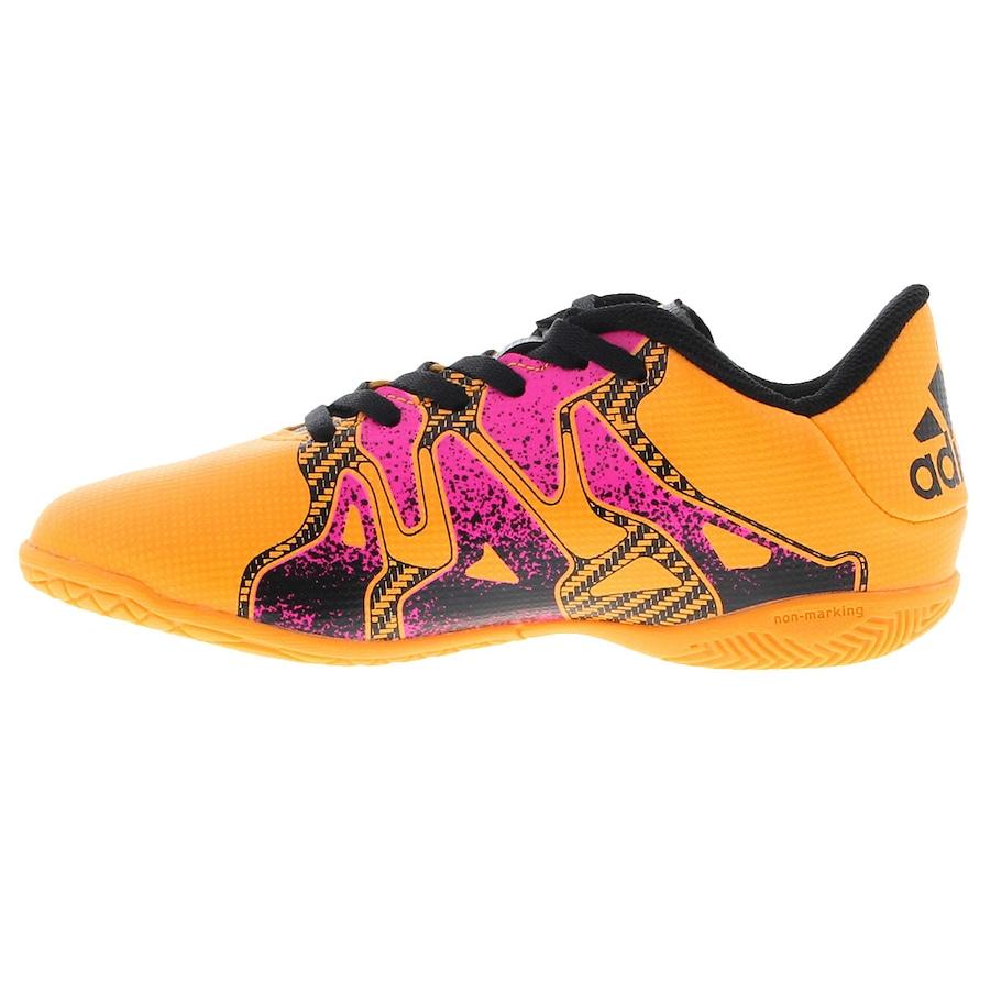 Chuteira Futsal adidas X 15.4 In - Infantil