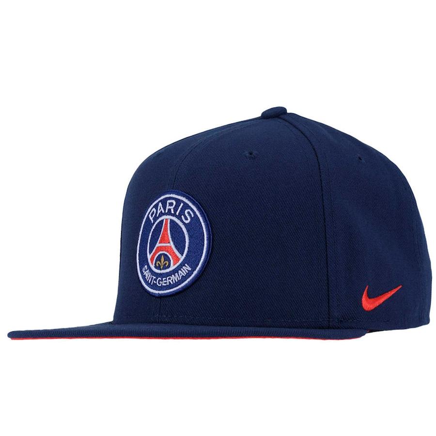 Boné Aba Reta Nike Paris Saint-Germain Core - Snapback - Ad 868d134bf85