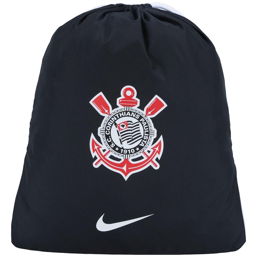 Gym Sack do Corinthians Nike Allegiance c44f6047c07bb