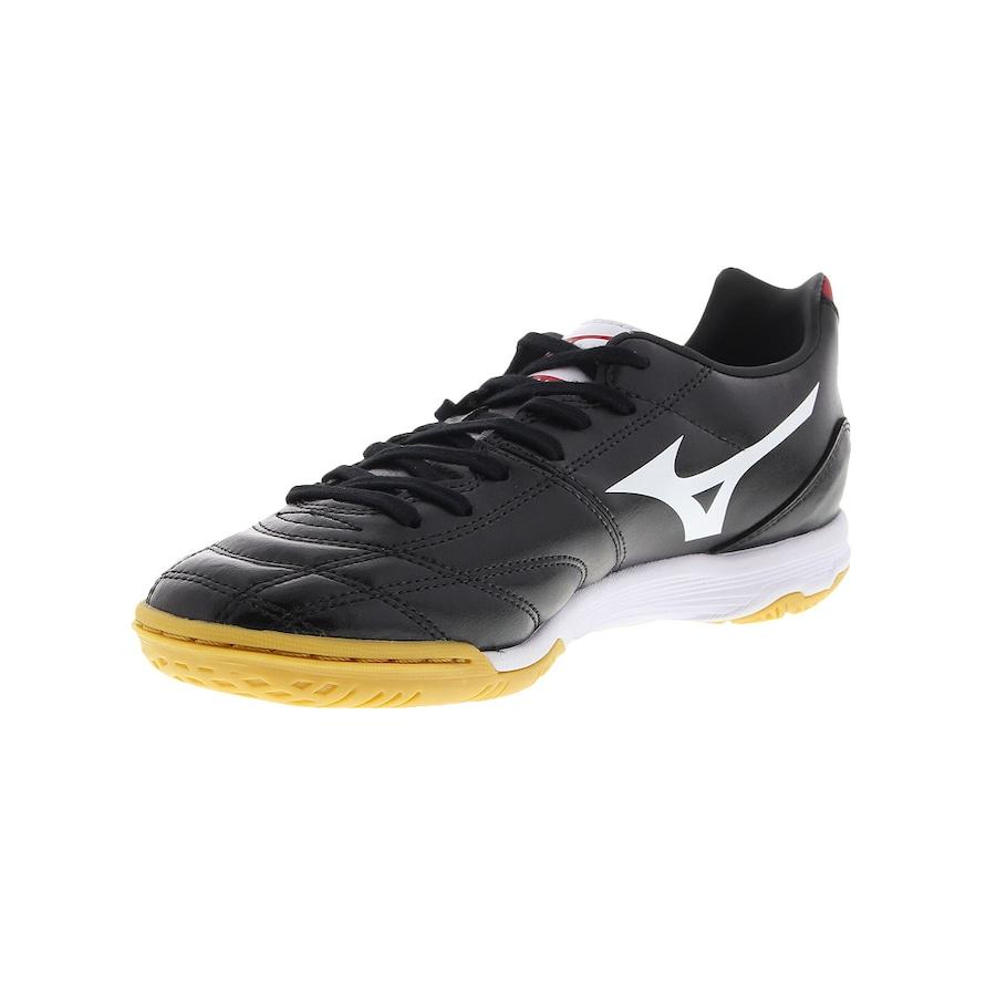 950385367252a Chuteira de Futsal Mizuno Morelia Neo Classic IN - Adulto