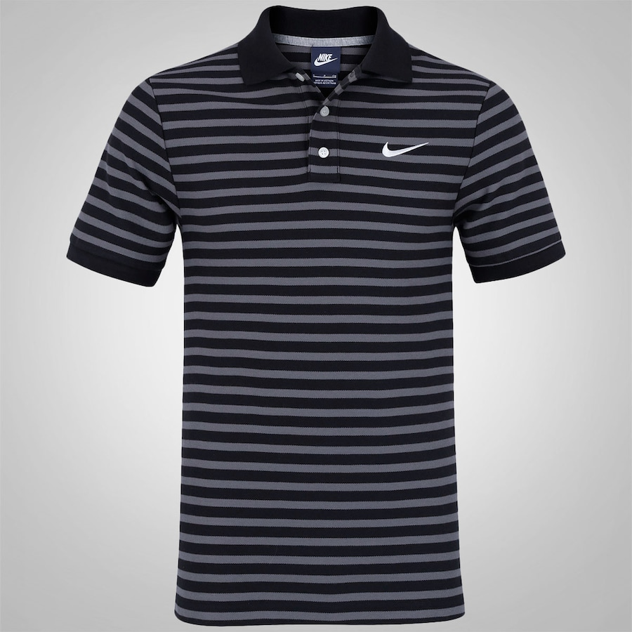 51fbfe1e34e93 Camisa Polo Nike Match Up Mini Stripe Masculina