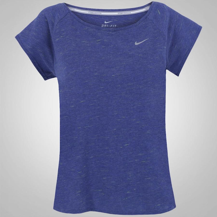 3bdfc8315b Camiseta Nike Tailwind Neon Slub - Feminina