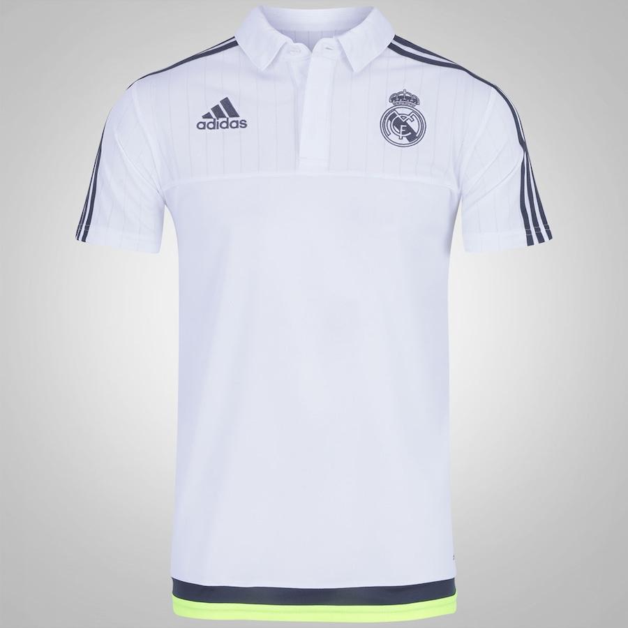 39f1d071b3 Camisa Polo de Viagem adidas Real Madrid 15 – Masculina