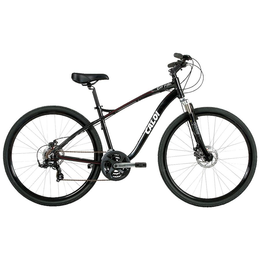 850847773 Bicicleta Caloi Easy Rider - Aro 700 - Freio a Disco - Câmbio Shimano TX -  21 Marchas