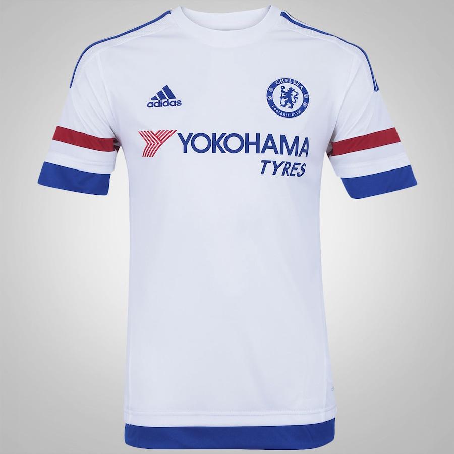a90a92ebb47 Camisa Chelsea II 15 16 adidas - Masculina