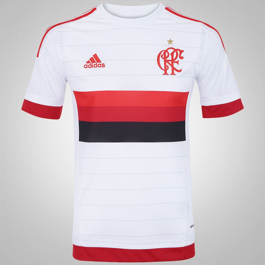 4e06005e2e44d Camisa do Flamengo II 2015 s nº adidas - Masculina