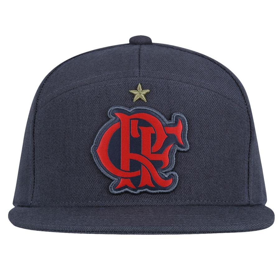 Boné Aba Reta adidas Flamengo Hino 2015 - Snapback 1be29b2cb88