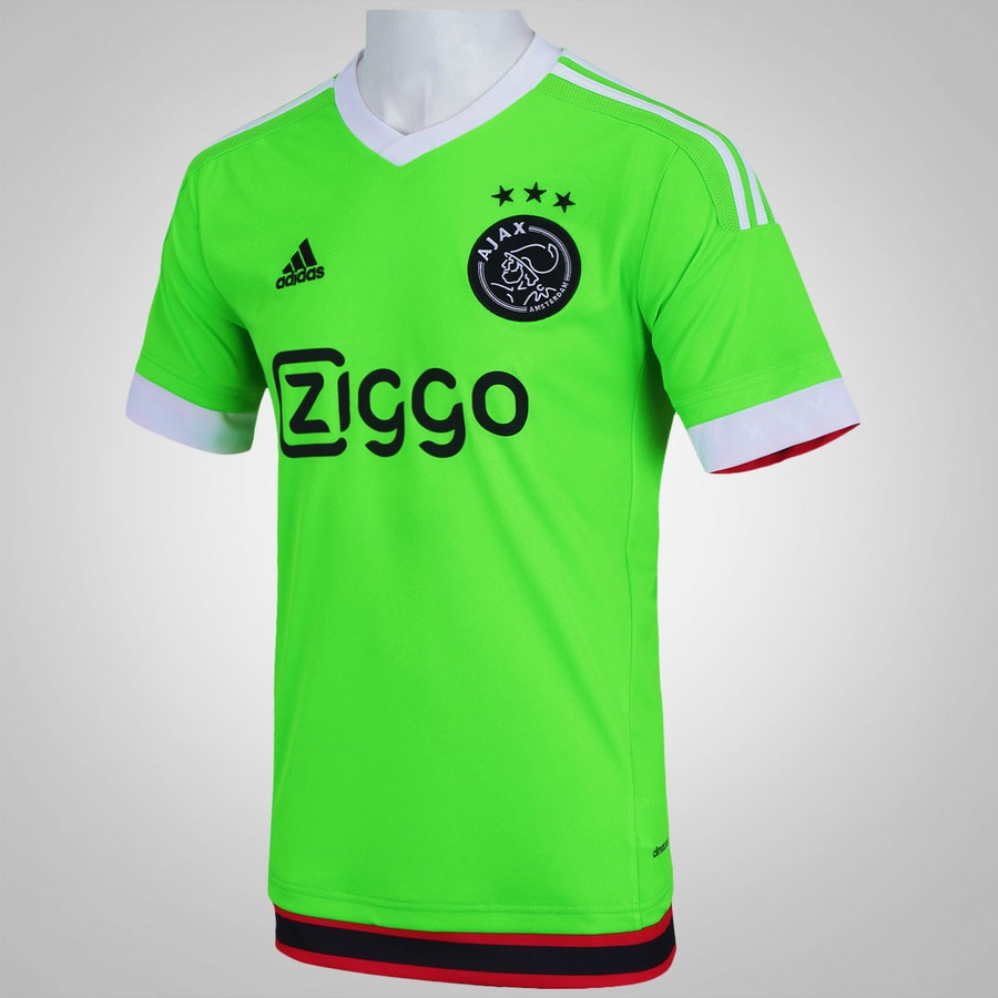 6f09eace5c Camisa Ajax I 15 16 adidas - Masculina