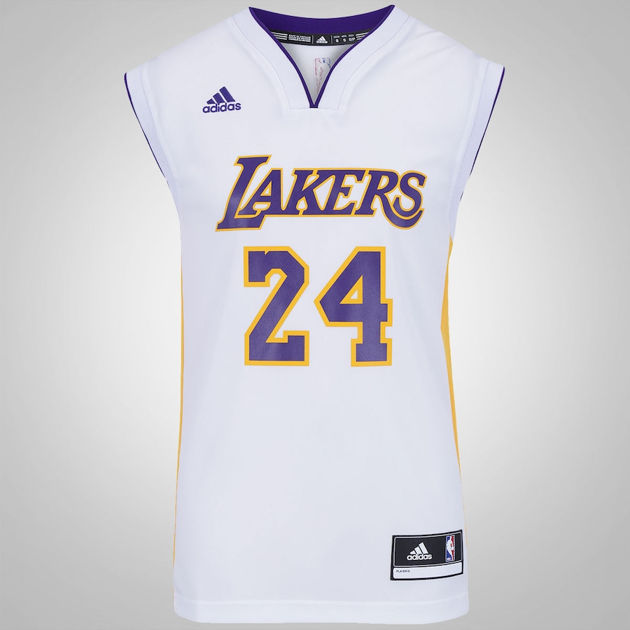 1abe3a1ff Camiseta Regata adidas NBA Los Angeles Lakers Masculina