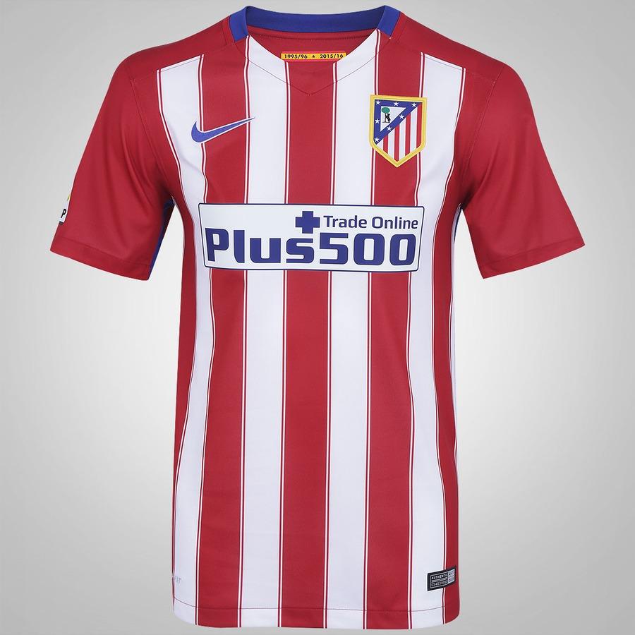 Camisa do Atlético de Madrid I 15 16 Nike ee9e6f1dadcb3