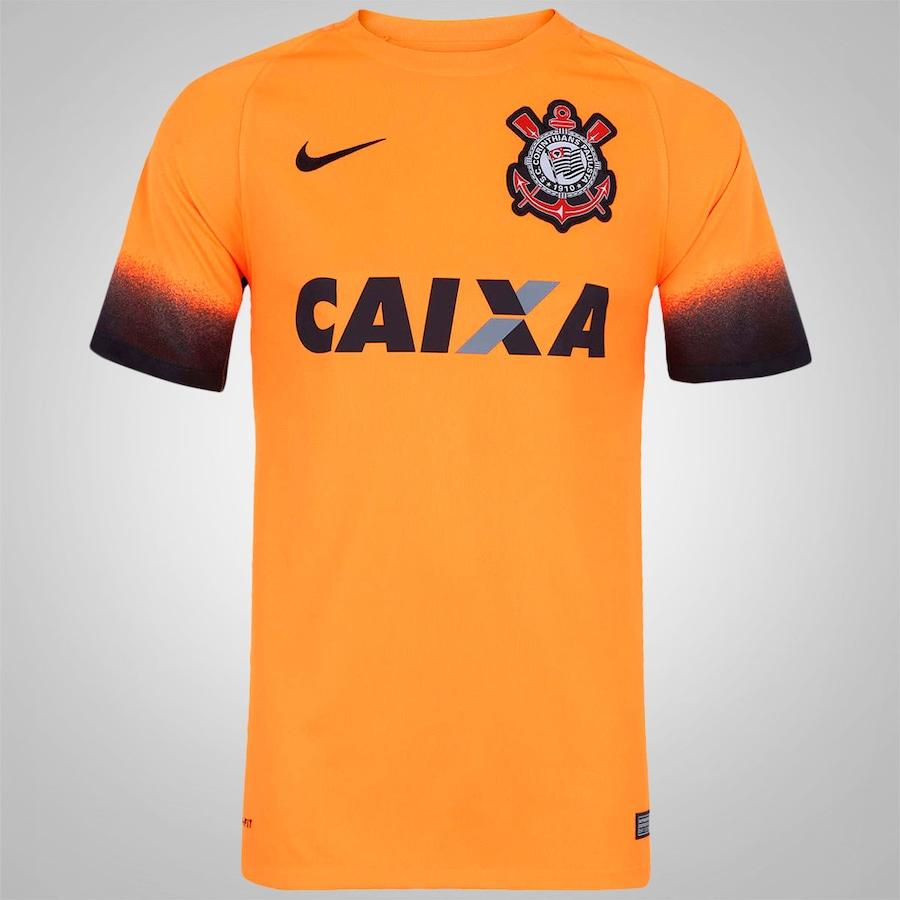 88b425c0a5334 Camisa do Corinthians III 2015 s nº Nike - Masculina
