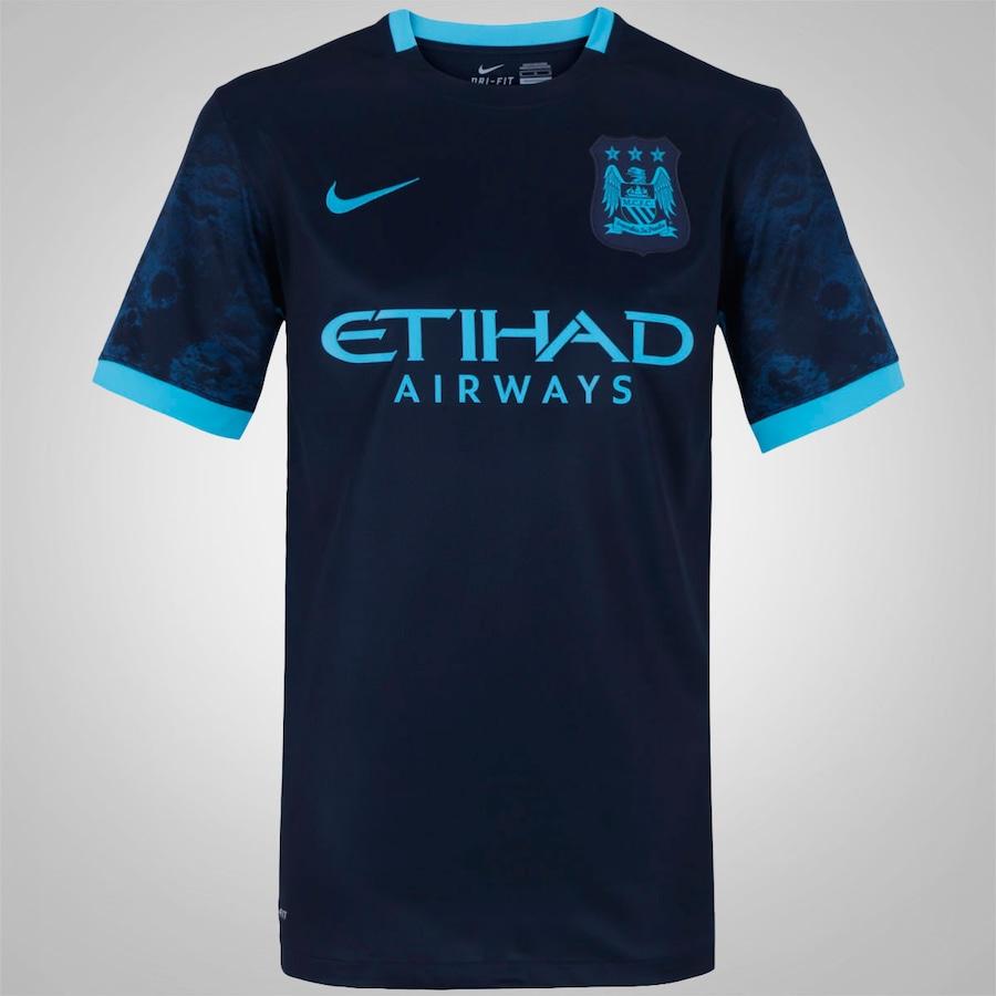 Camisa Manchester City II 15 16 Nike - Masculina 167ea0bf425