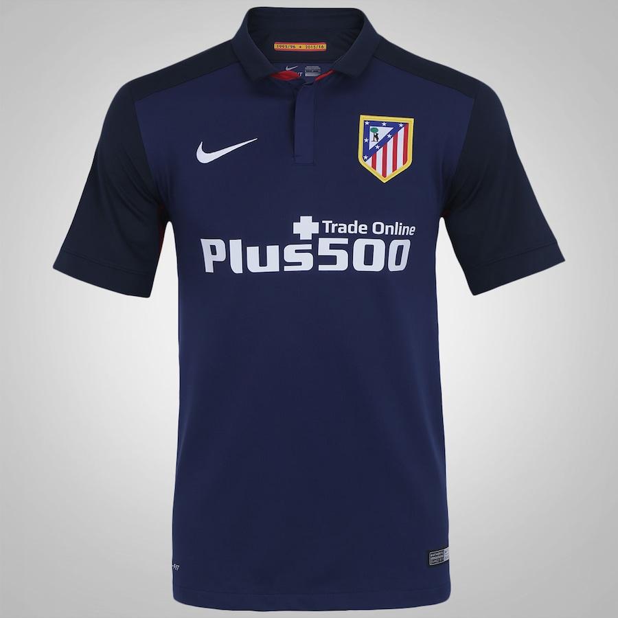 Camisa do Atlético de Madrid II 15 16 Nike d4a50e812193c