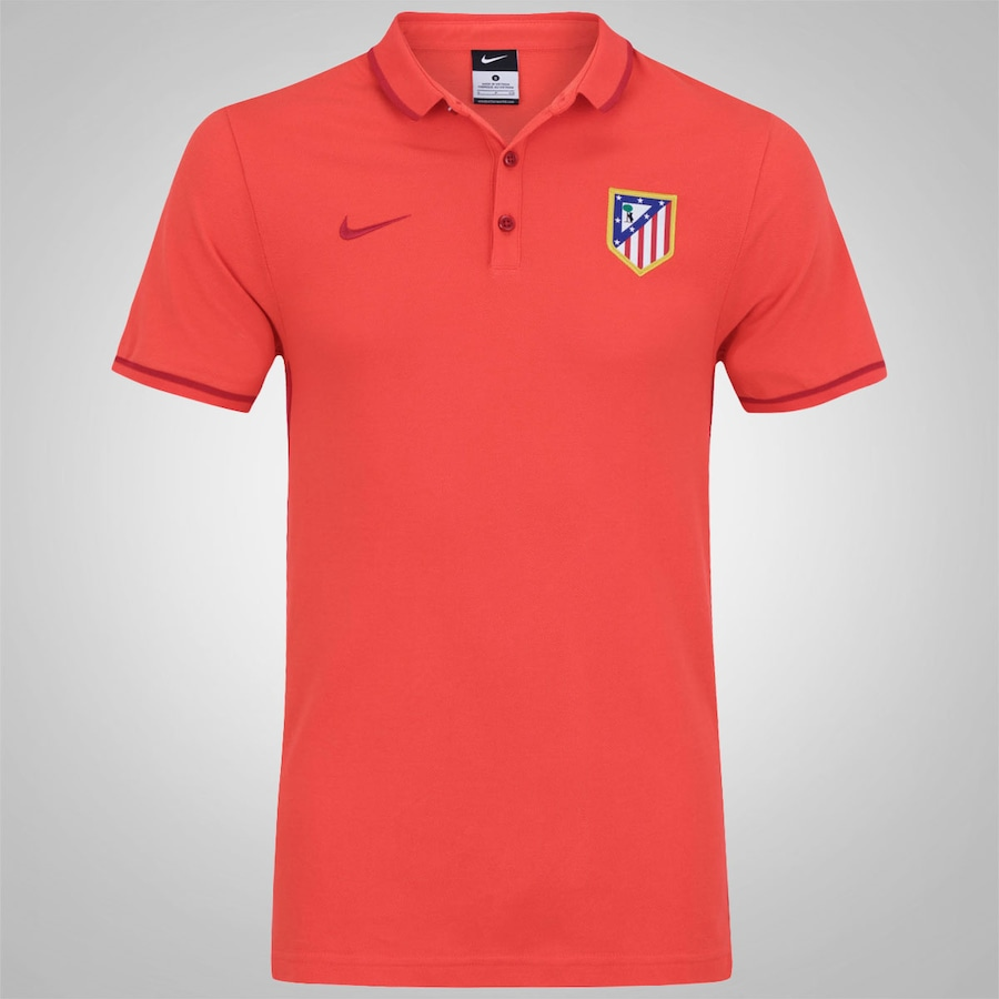 Camisa Polo do Atlético de Madrid Authentic 15 Nike eee311f482882