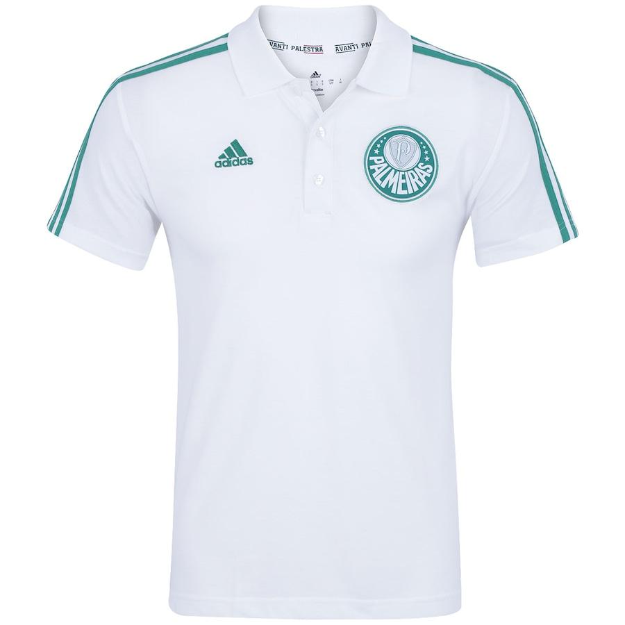Camisa Polo do Palmeiras 3S 2015 adidas - Masculina 50be407535961