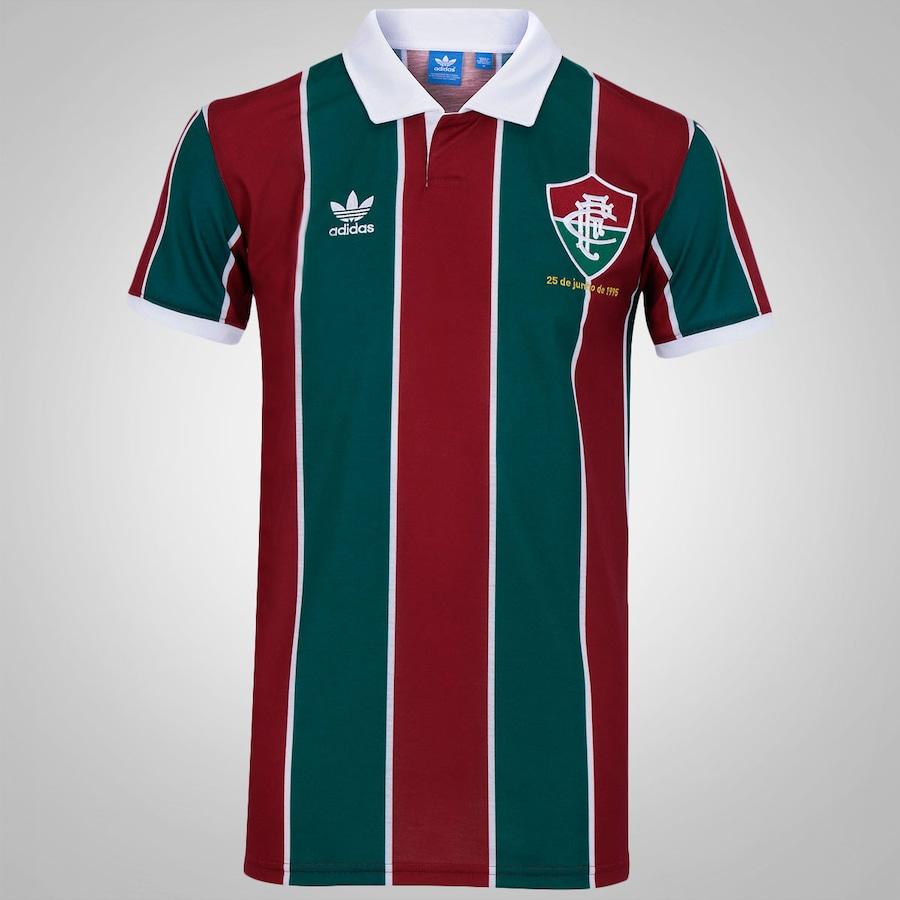3fe001de99 Camisa Retrô do Fluminense Ame o Rio nº 7 adidas