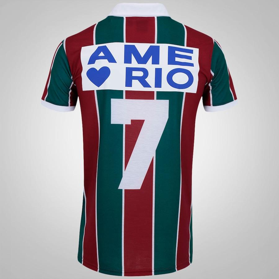 7e492a1a19 Camisa Retrô do Fluminense Ame o Rio nº 7 adidas