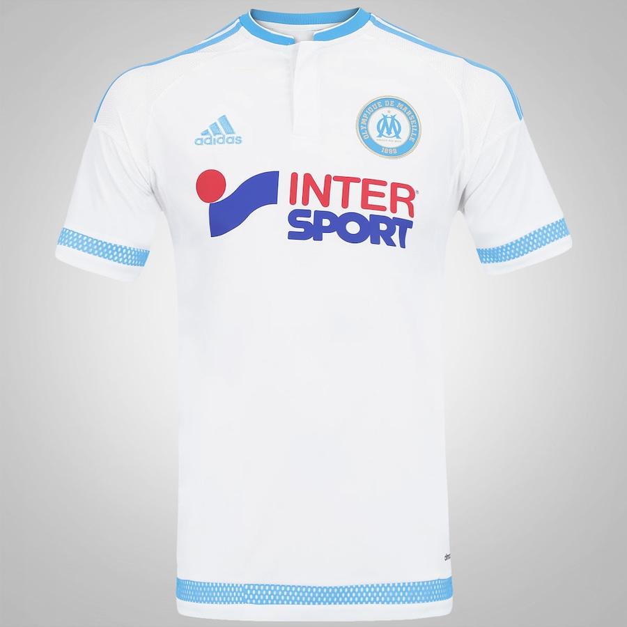 178968d86 Camisa Olympique de Marseille I 15 16 adidas - Masculina