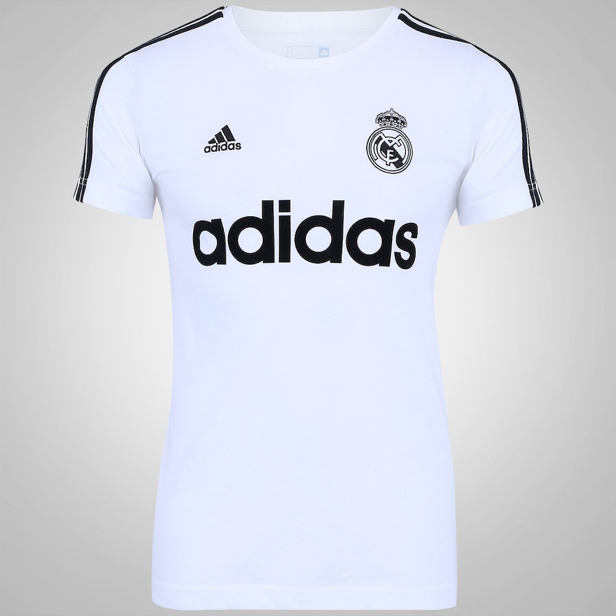 Camiseta do Real Madrid Retro adidas - Masculina 69ead71f1edba