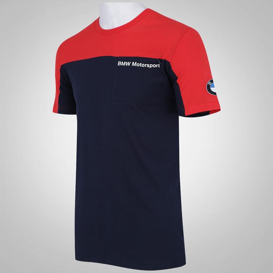 camiseta puma bmw motorsport masculina. Black Bedroom Furniture Sets. Home Design Ideas