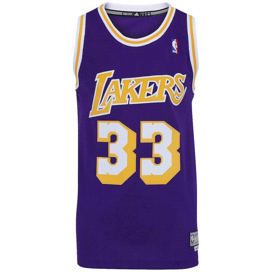 Camiseta Regata adidas NBA Los Angeles Lakers 33 Masculina 46fdb1231f3