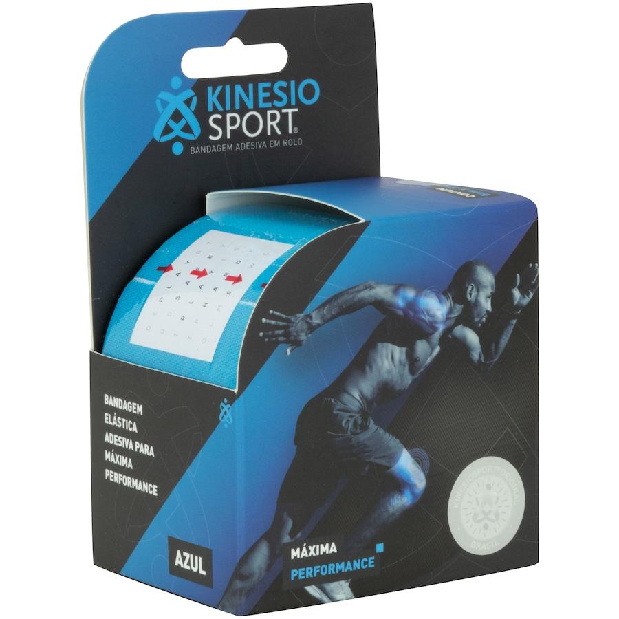 Bandagem Elástica Adesiva Kinesio Sport Faixa de Proteção - 5cm