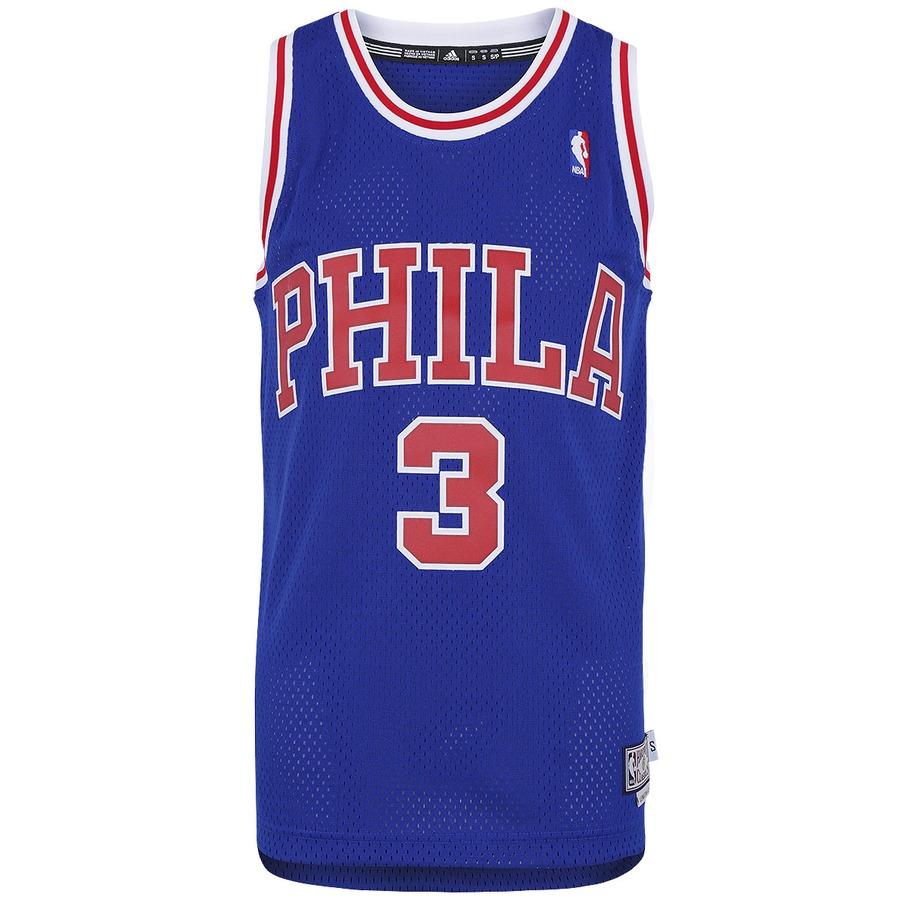 4d1e9ae52 Camiseta Regata adidas NBA Retired Philadelphia Sixers
